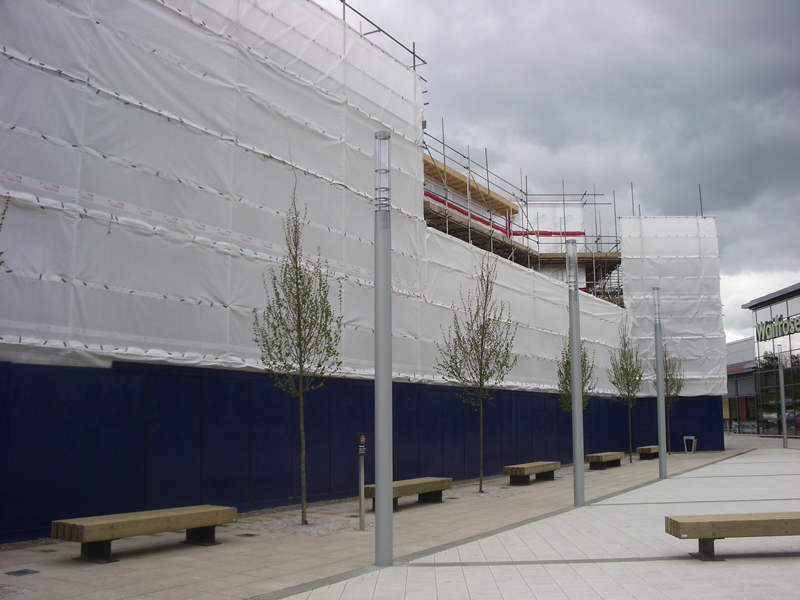 Scaffolding for Industrial Commercial Domestic Restoration projects experienced new build Northampton
